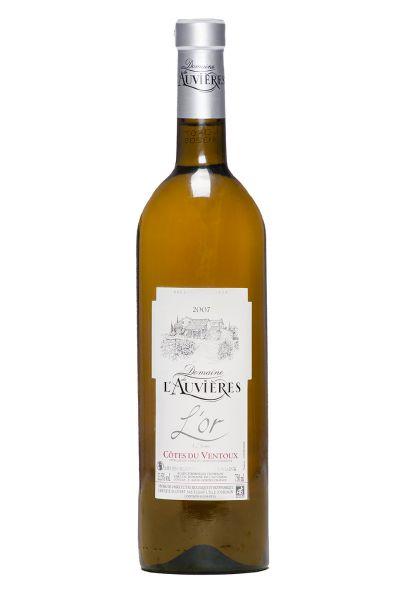 2007 er L'Or de l'Auvrieres Blanc AOC Ventoux (0,75 l)