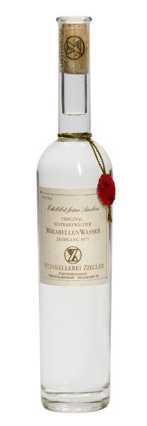 Mirabellenwasser - Ernte 1981 45% Vol. (0,5 l)