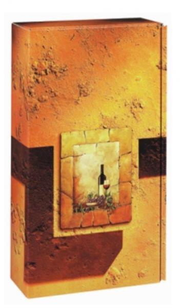 2 er Weinpräsentkarton Terra (versandgeignet)