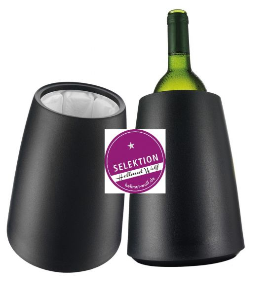 Wine Cooler elegant schwarz