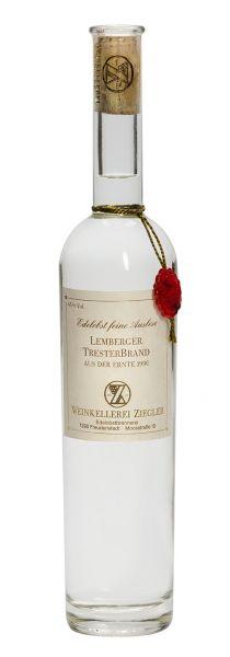 Lemberger Tresterbrand - Ernte 1990 45% Vol. (0,5 l)