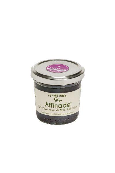 Affinade de Olives Noir Bio (Glas 90 gr.)