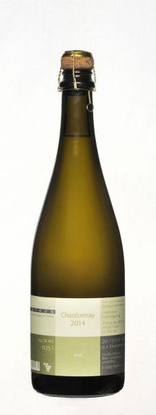 2016 er Chardonnay Brut Nature, Bio-Jahrgangssekt - Klass. Flaschengärung (0,75 l)