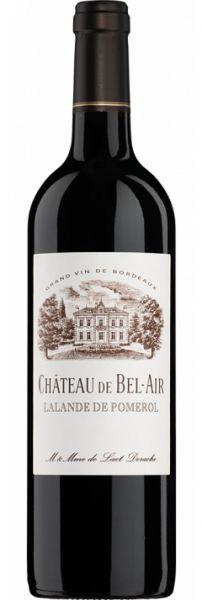 1988 er Chateau de Bel-Air, AC Lalande de Pomereol (0,75 l)