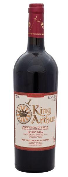 2012 er King Arthur Rosso, IGT Provincia di Pavia (0,75 l)