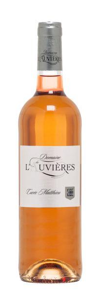 2017 er Cuvée Matthieu Rosé AOP Ventoux (0,75 l)