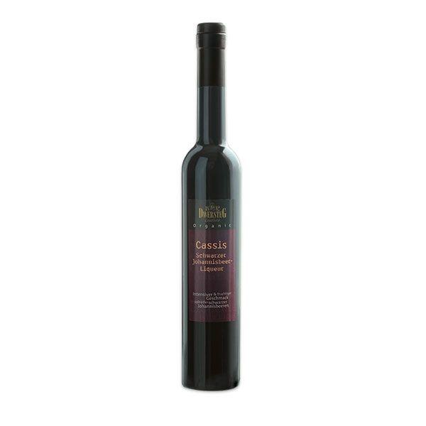 Cassis - Schwarzer Johannisbeer-Liqueur 20% Vol. (0,5 l)