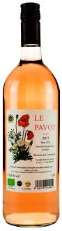 Le Pavot Rose, Vin de France (1,0 l)