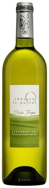 2014 er Chatreau le Payral Petite Fugue Sec AC Bergerac (0,75 l)