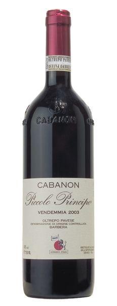 2012 er Piccolo Principe Barbera DOC Oltrepo Pavese (0,75 l)