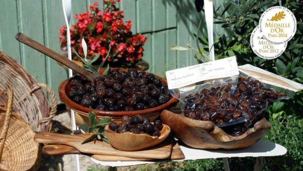 Olives Noir de Nyons Bio AOP (sachet s.v. 500 gr.)