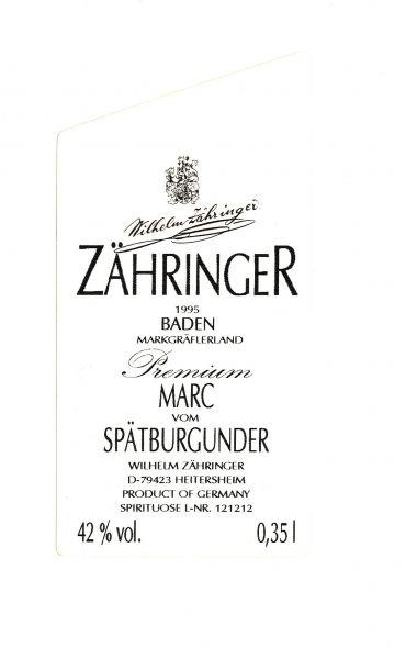 1995 er Marc vom Spätburgunder (42 % Vol.) 0,35 l