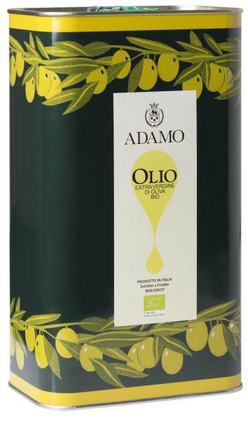 Olivenöl, Extra Virgine di Oliva, Adamo (5,0 l)