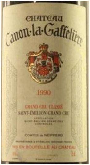 1990 er Chateau Canon la Gaffeliere, Grand Cru Classé AC St. Emillion (1,5 l)