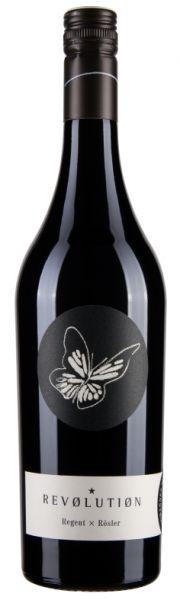 2012 er REVOLUTION Rotwein Cuvee Regent x Rössler Qualitätswein trocken (0,75 l)