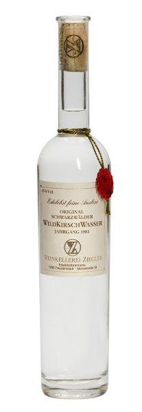 Wildkirschwasser - Ernte 1990 45% Vol. (0,5 l)