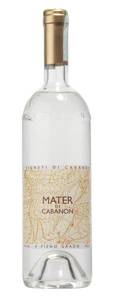 Mater di Cabanon - Destillato di Grappa a pieno grado 76 Vol. (0,7 l)