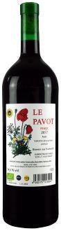 Le Pavot Rouge, Pays de l'Aude IGP (1,0 l)