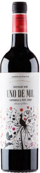 2011 er DdP Uno de Mil, Tempranillo-Petit Verdot, DO La Mancha - Demeter (0,75 l)