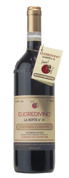 2012 er Cuoredivino - Botte 18, DOC Oltrepo Pavese (0,75 l)