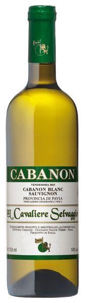 2015 er Cabanon Blanc - Sauviignon, IGT Provincia di Pavia (0,75 l)